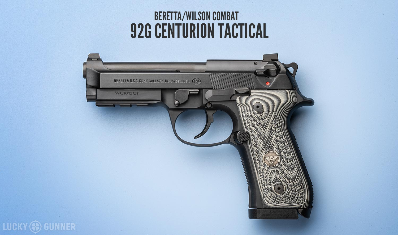 Beretta Wilson Combat 92G Centurion Tactical