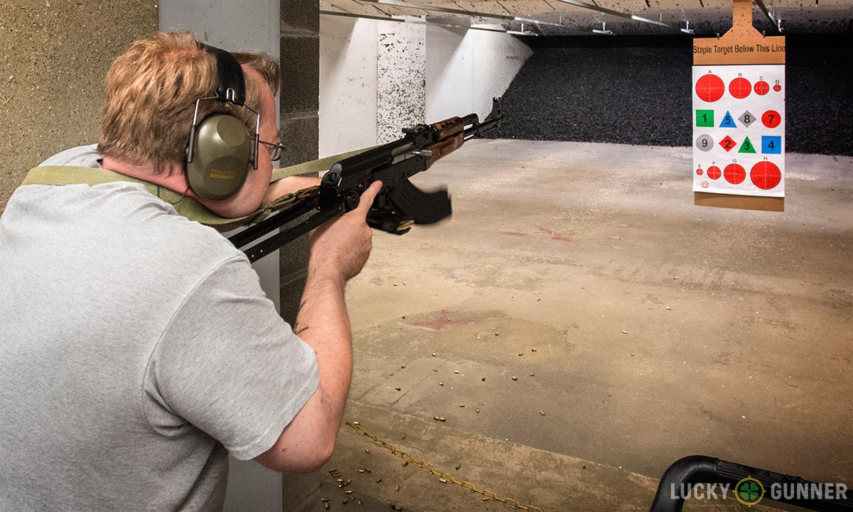 small target AK practice