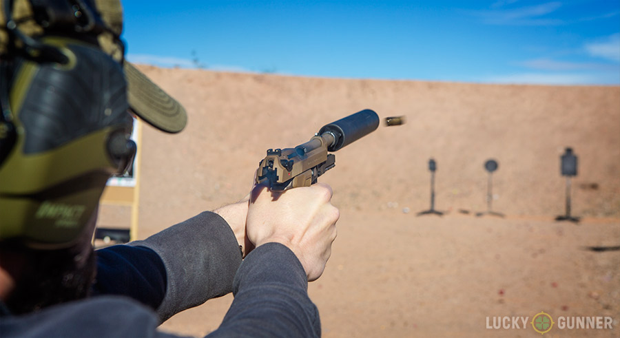 Beretta M9A3 Suppressed