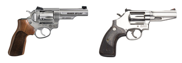 Ruger Match Champion and S&W 686 SSR