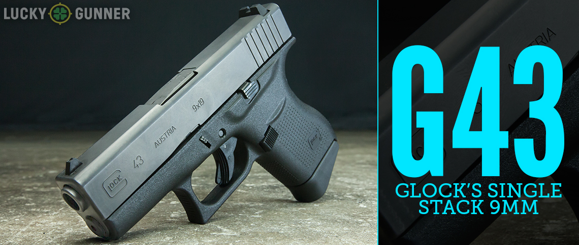 Glock 43 single stack 9mm