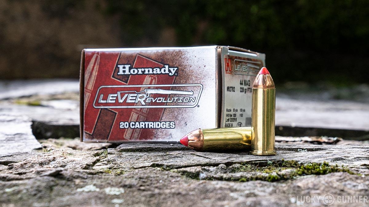 Hornady .44 Magnum Lever Evolution