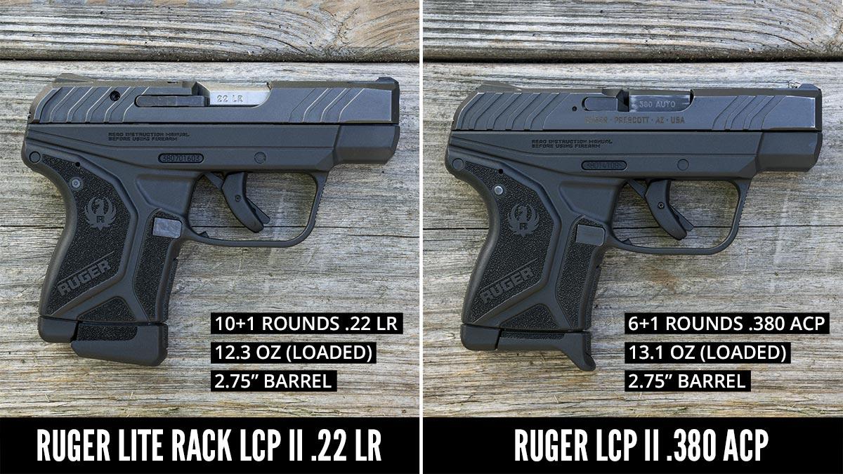 Side by side pistol comparison