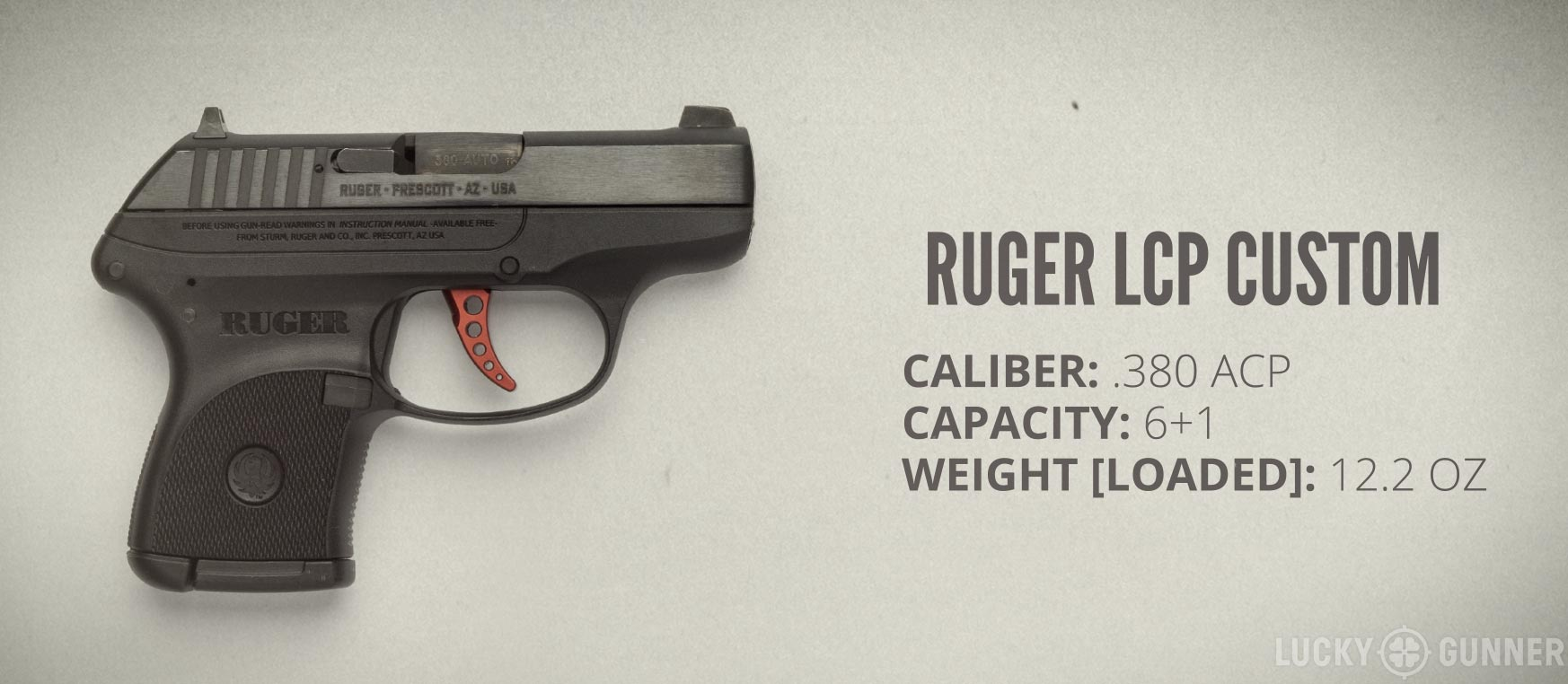 Ruger LCP Custom