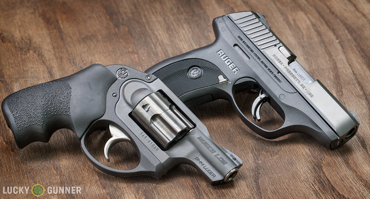 Ruger LCR 9mm and LC9s Pro