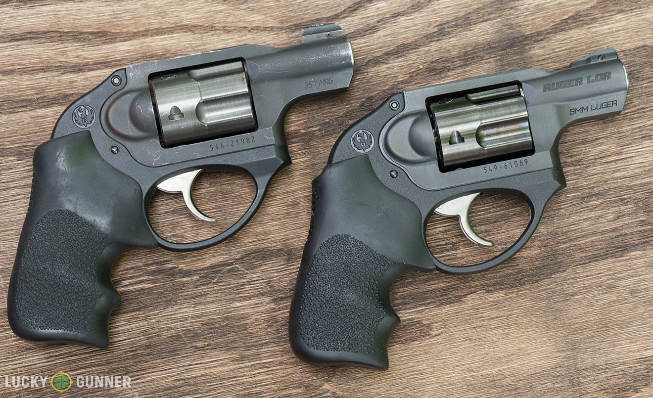 Ruger LCR 9mm and .357 magnum