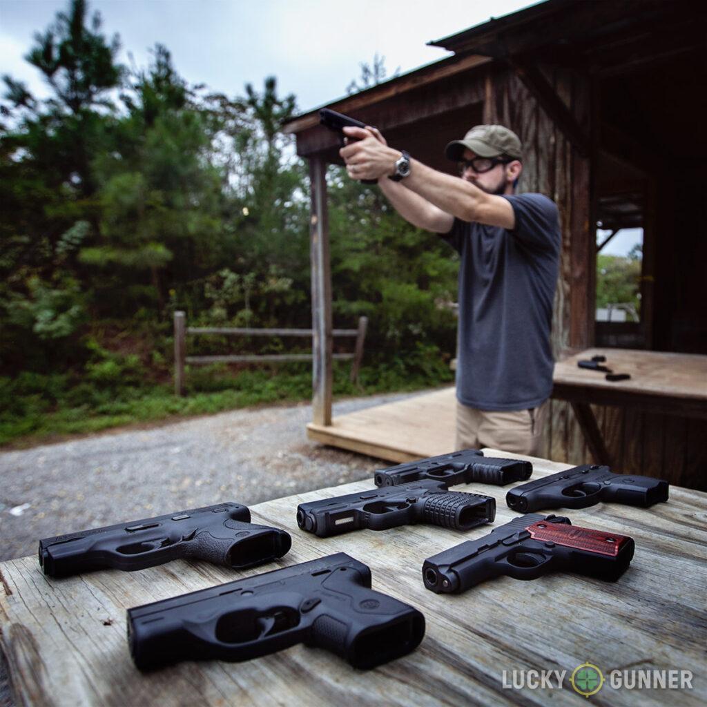 9mm Comparison at the range