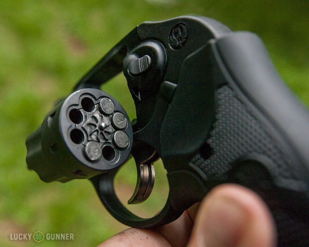 LCR-22 revolver w/ LVE .22LR cases