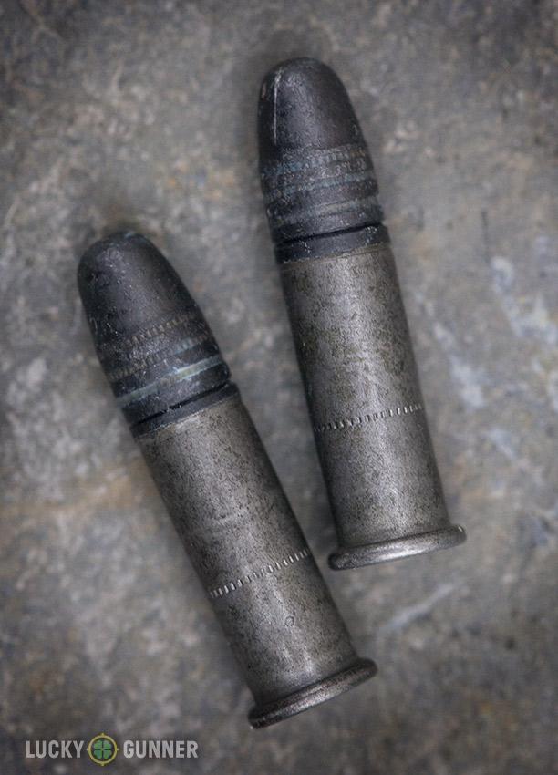 LVE steel cased .22LR ammo cartridges