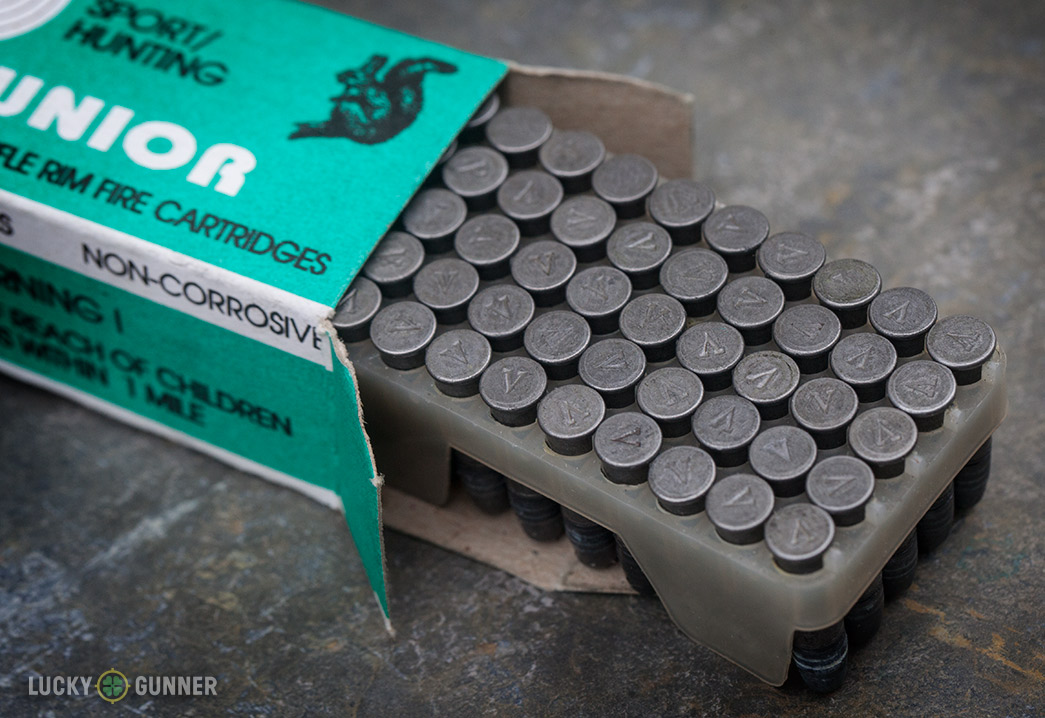 LVE Steel cased .22LR ammo