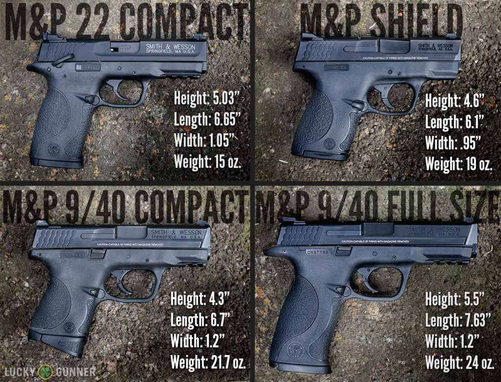 M&P Size Comparison
