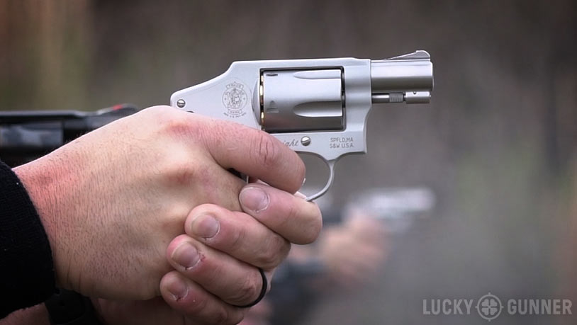 Smith & Wesson J-frame Versus Ruger LCR - Lucky Gunner Lounge