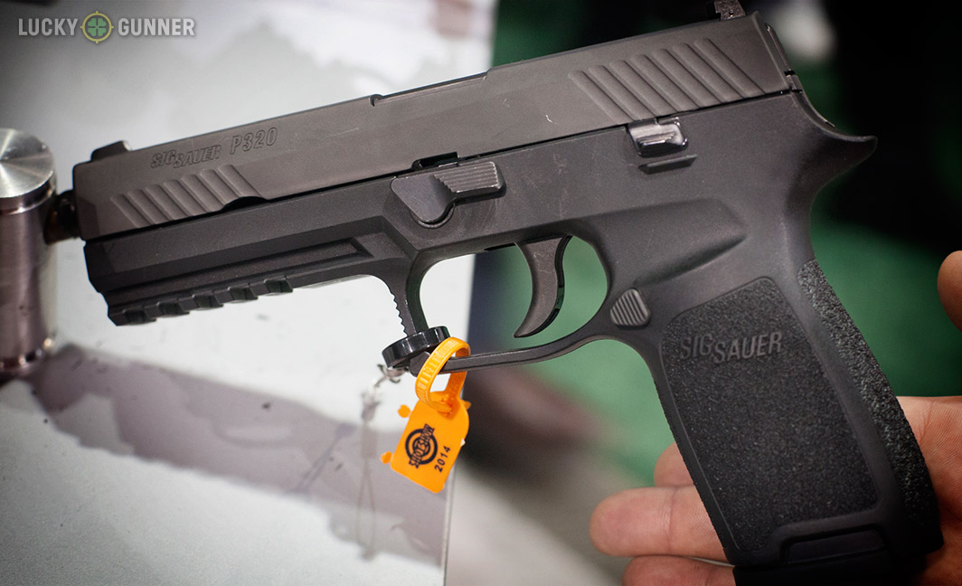 A Look At The Sig Sauer P320 9mm Pistol