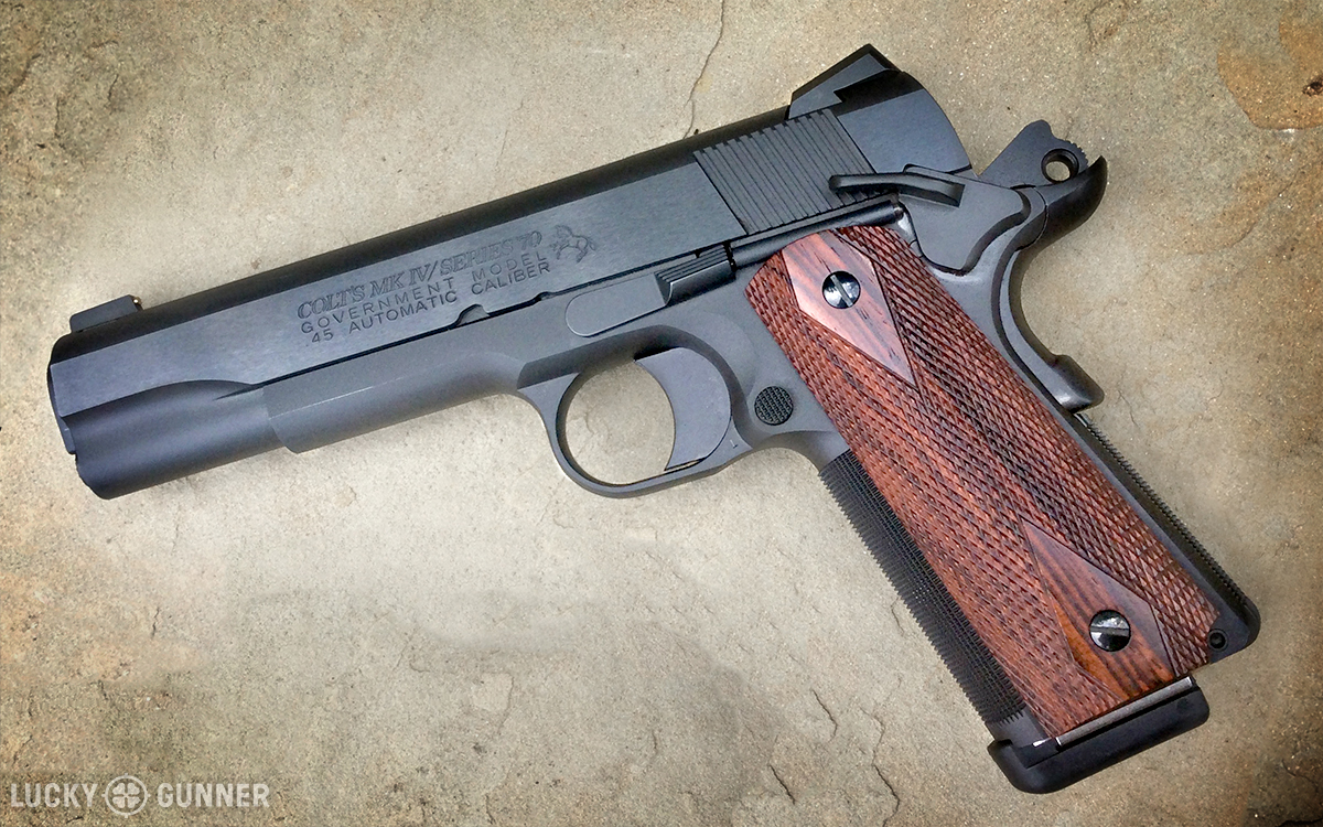 Modifying the 1911 for Service Use - Lucky Gunner Lounge