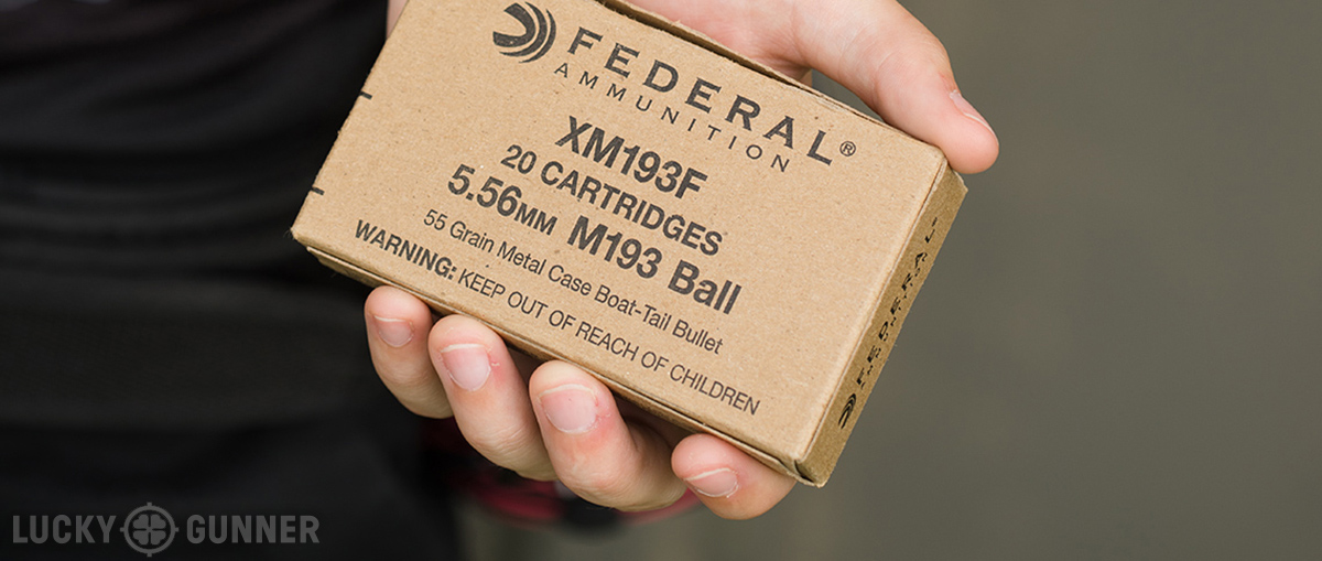 An example of high quality ball ammunition suitable for training or defense.
