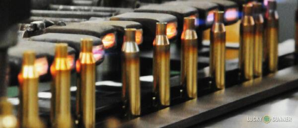 cartridges undergoing annealing process