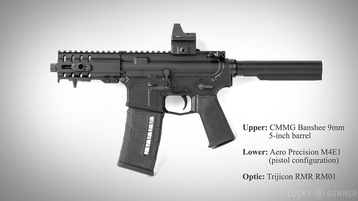 CMMG 9mm Banshee upper