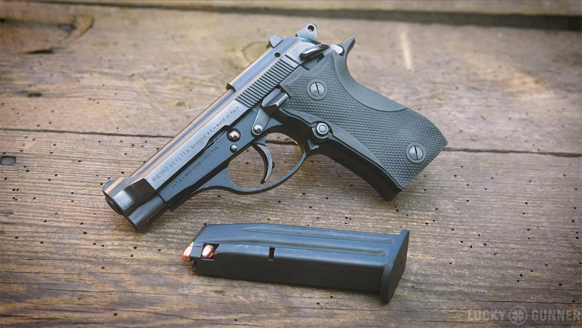 Surplus Beretta Model 81BB with LOK Grips