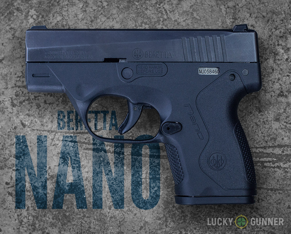 9mm Concealed Carry Pistols Comparison Ruger Lcp Extractor Exploded View Diagram 2 Beretta Bu9 Nano