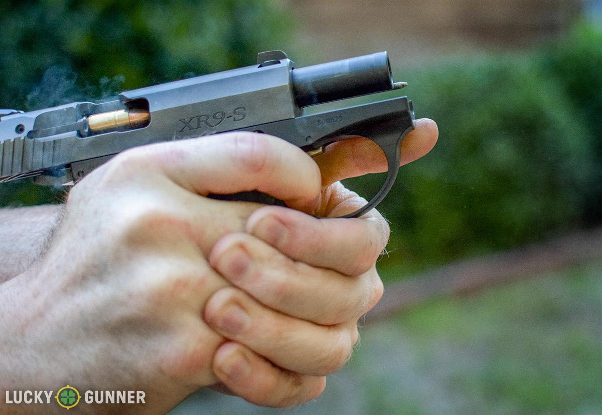 Boberg XR9s recoil