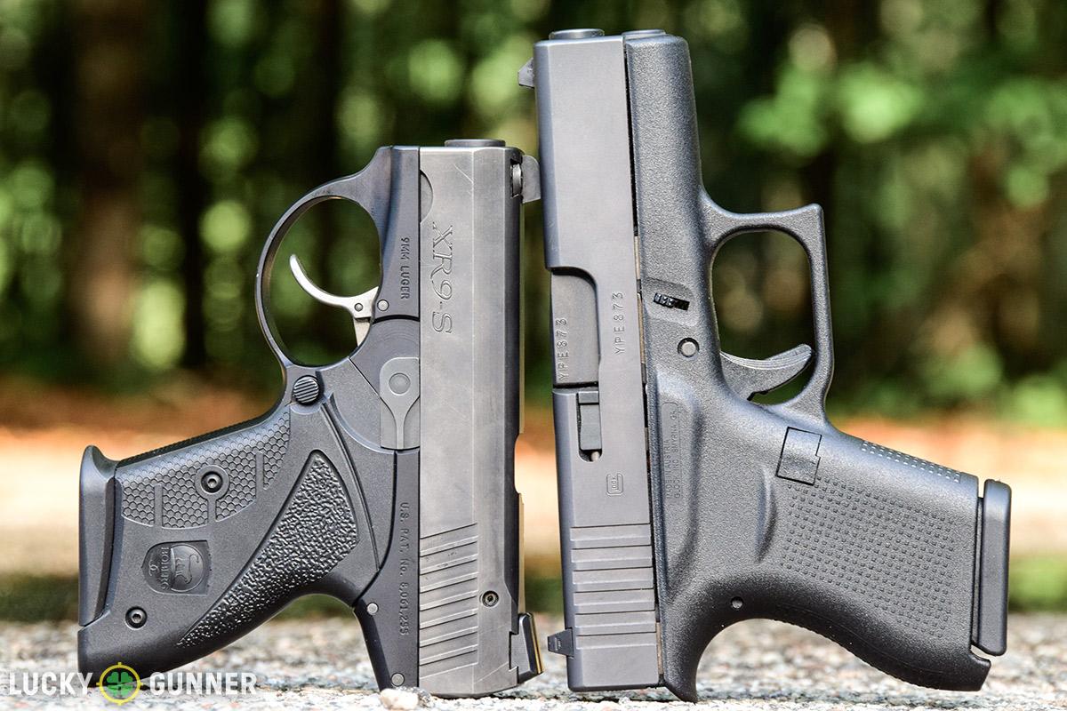 Boberg XR9s vs. Glock 43