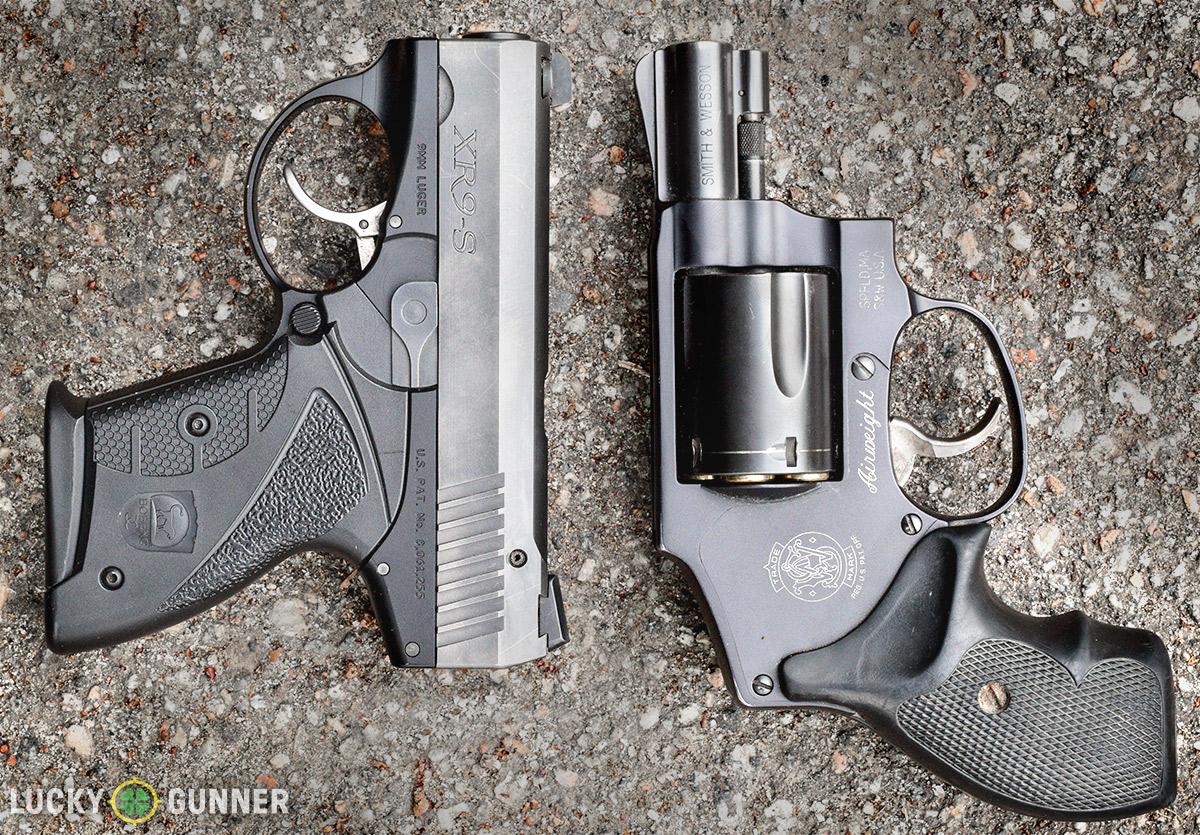 Boberg XR9s vs. J-Frame