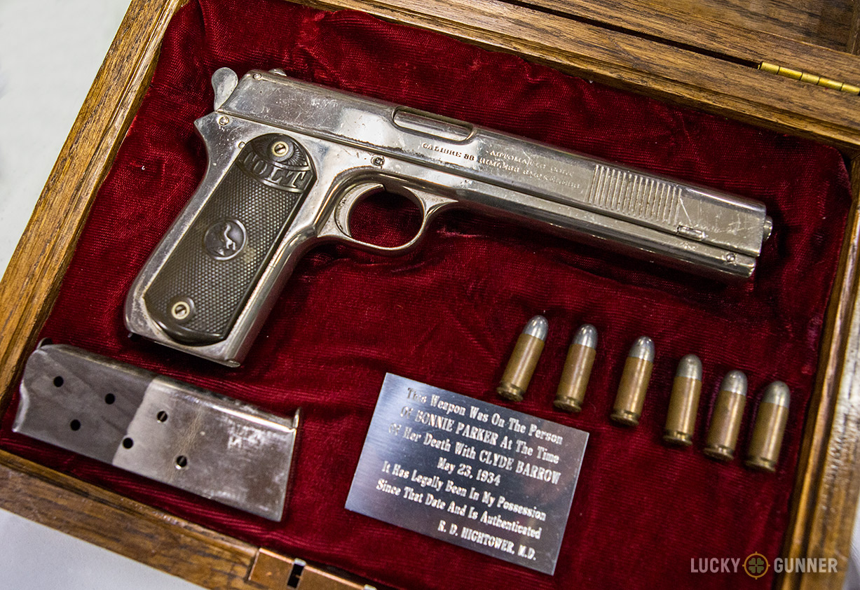 Colt Model 1902 - A Newly Found Part of Bonnie and Clyde's Arsenal
