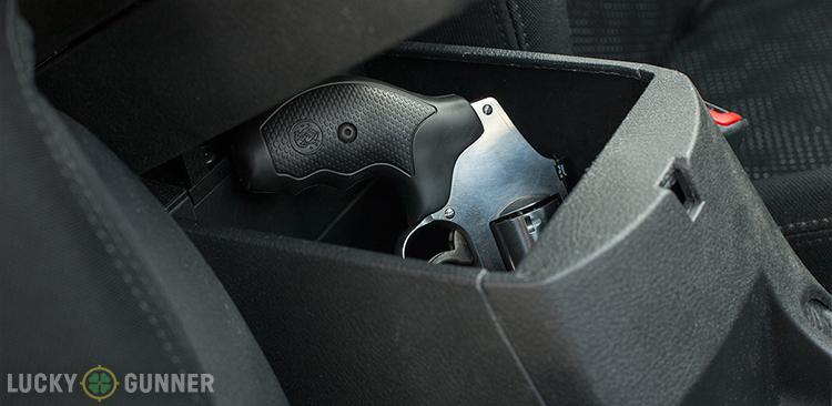car console handgun