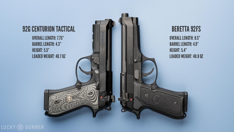 92G Centurion Tacitcal 92FS Comparison