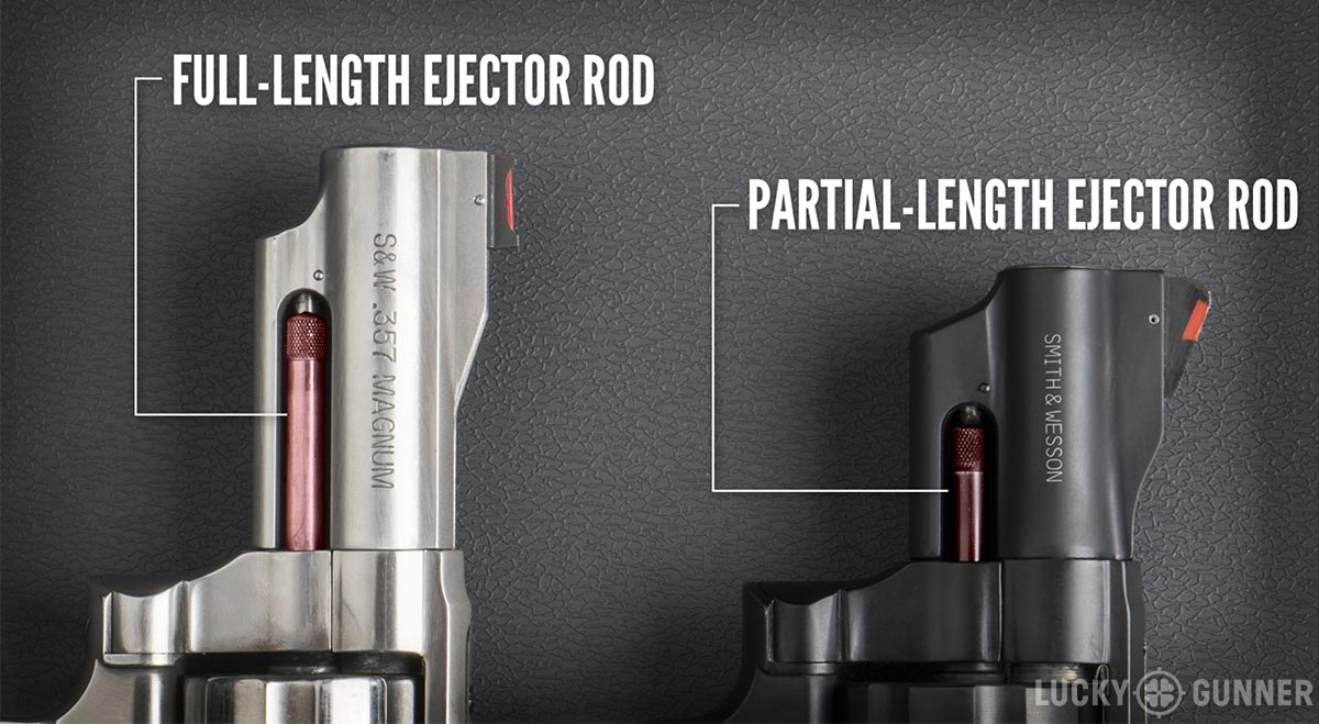 full length vs partial length ejector rod