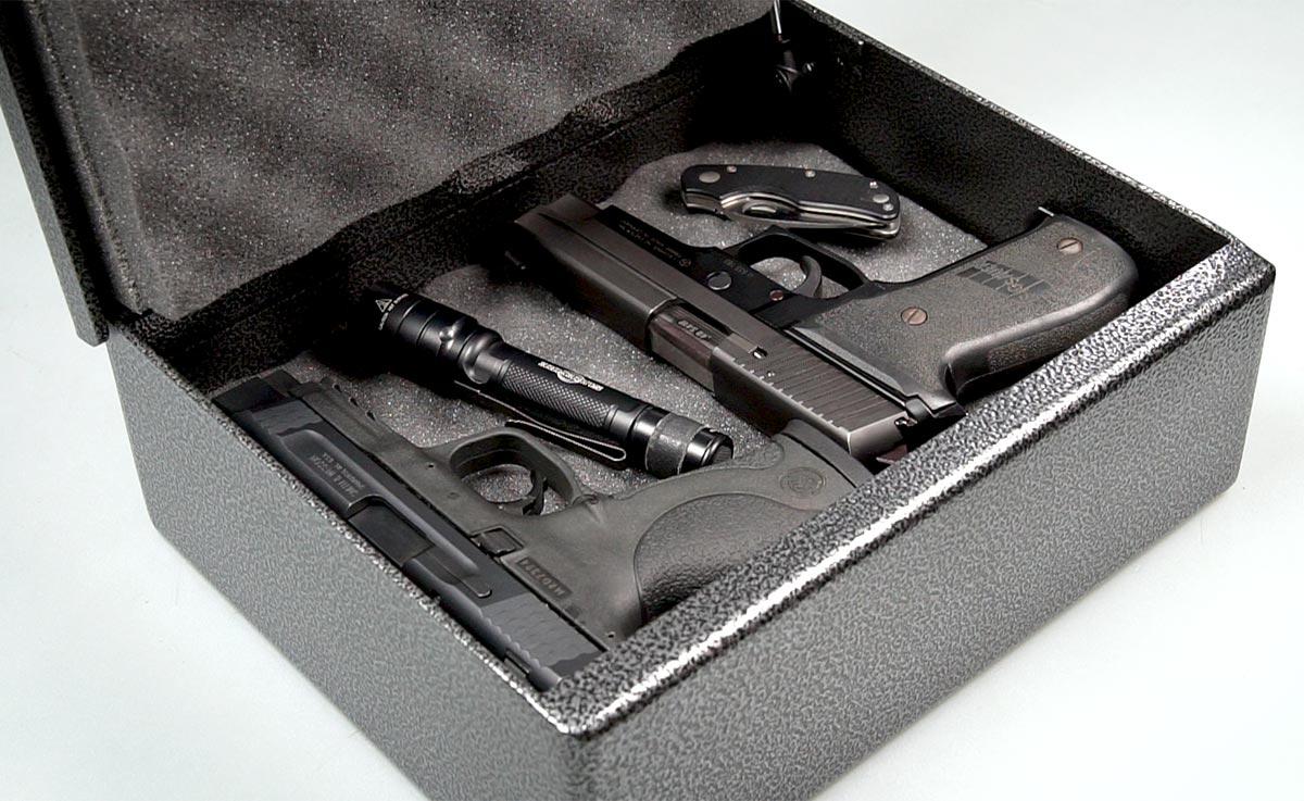 Fort Knox Pistol Box Capacity