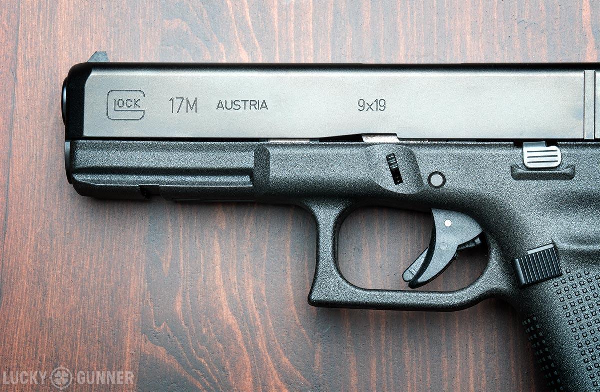 Glock 17M rail