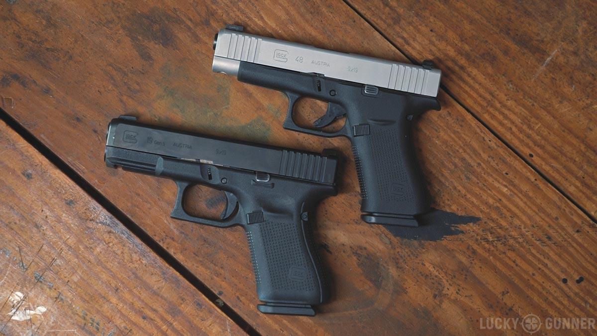 Glock 19 and Glock 48
