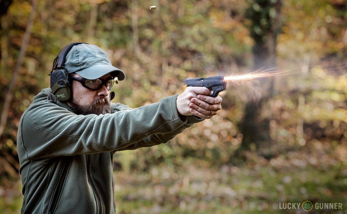 Glock 42 Muzzle Flash