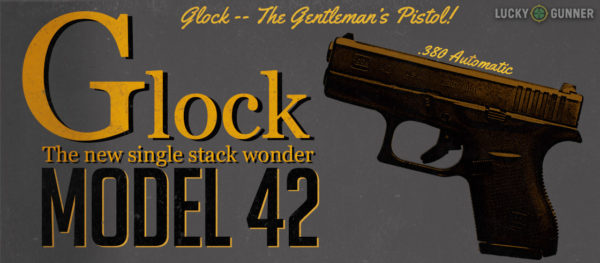 Glock 42 faux vintage