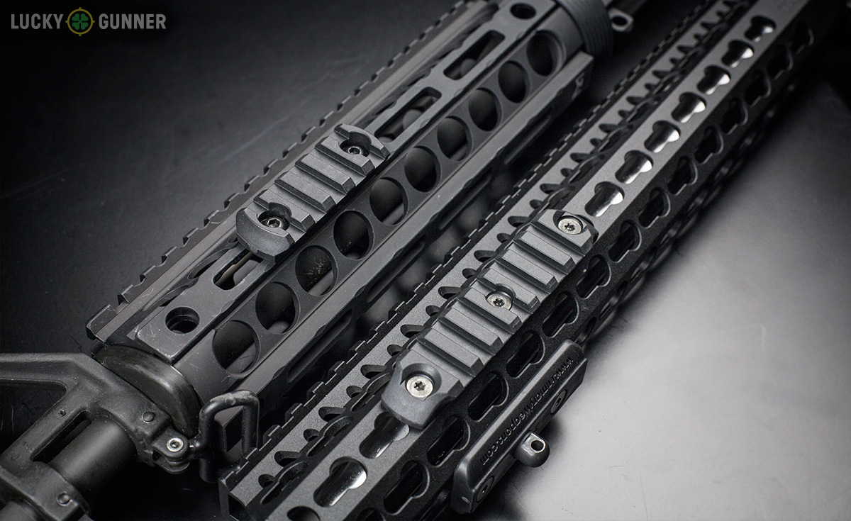 Keymod vs MLok picatinny adapter