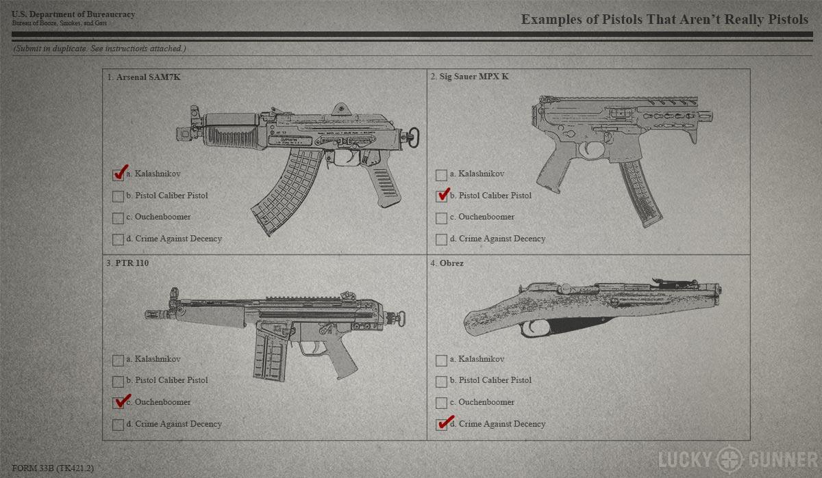 large format pistols