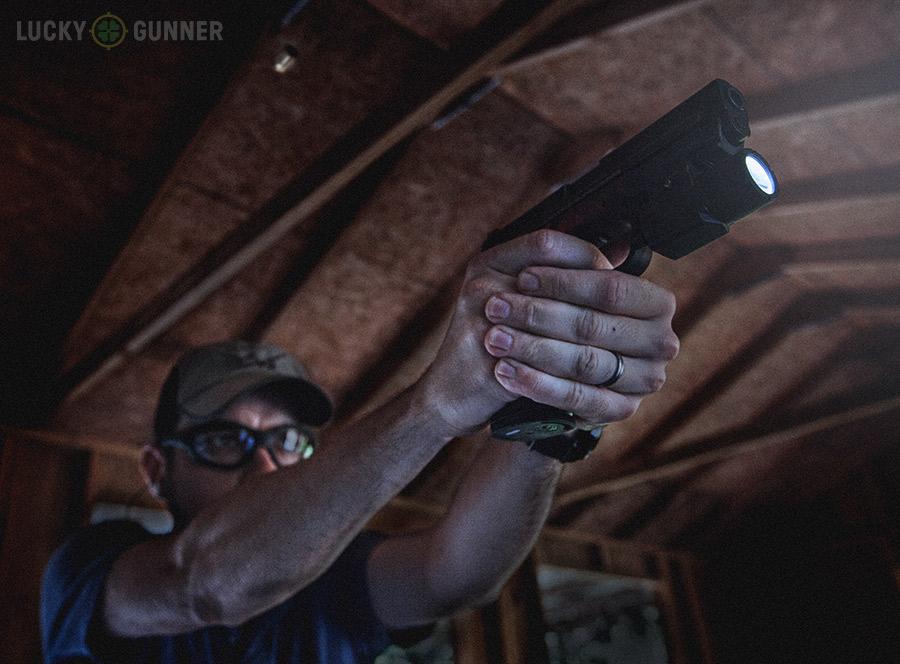 handgun low light