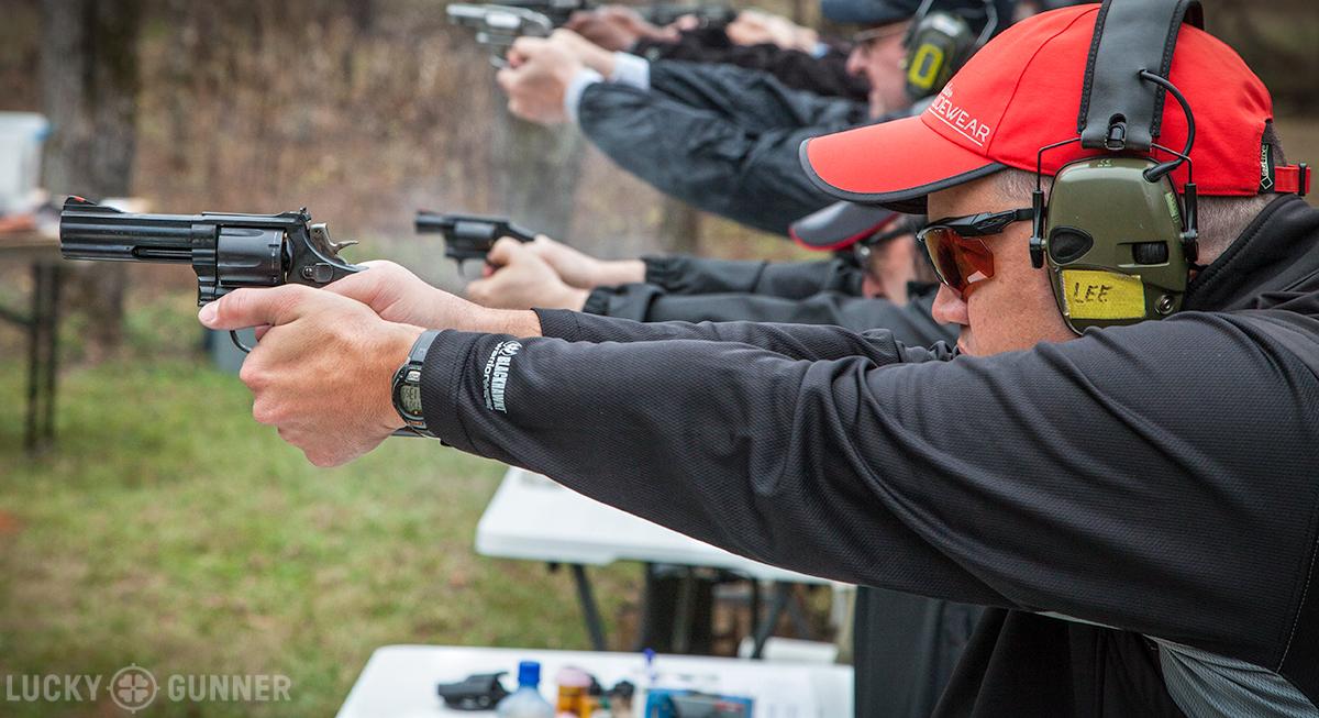 Lee Weems revolver