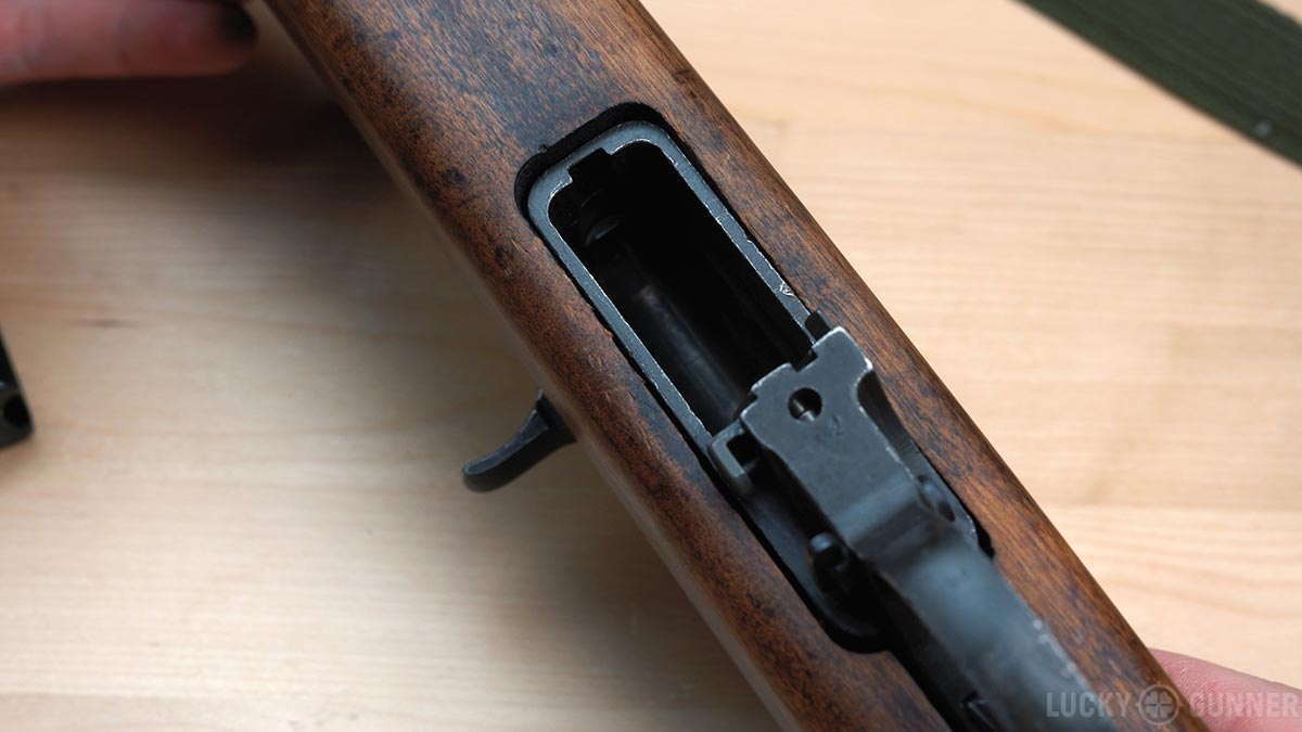 M1 Carbine magazine well