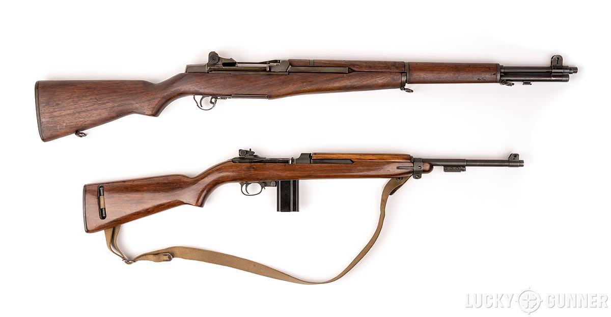 M1 Garand versus M1 Carbine
