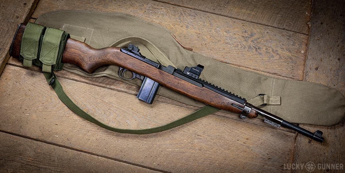 M1 Carbine Ultimak rail red dot sight