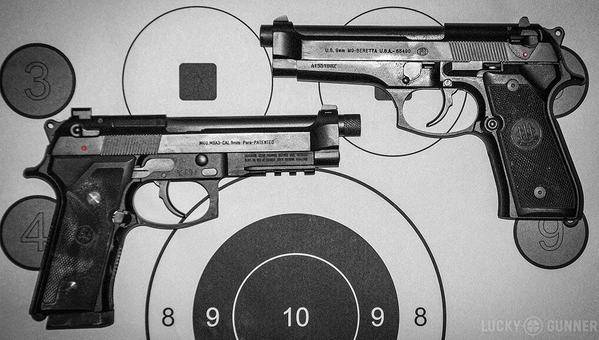 Beretta M9A3 versus M9