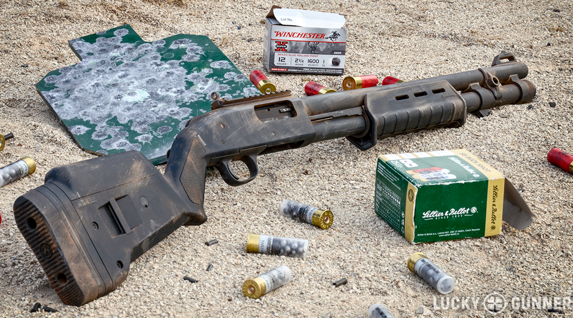 Mossberg 590A1 ammo