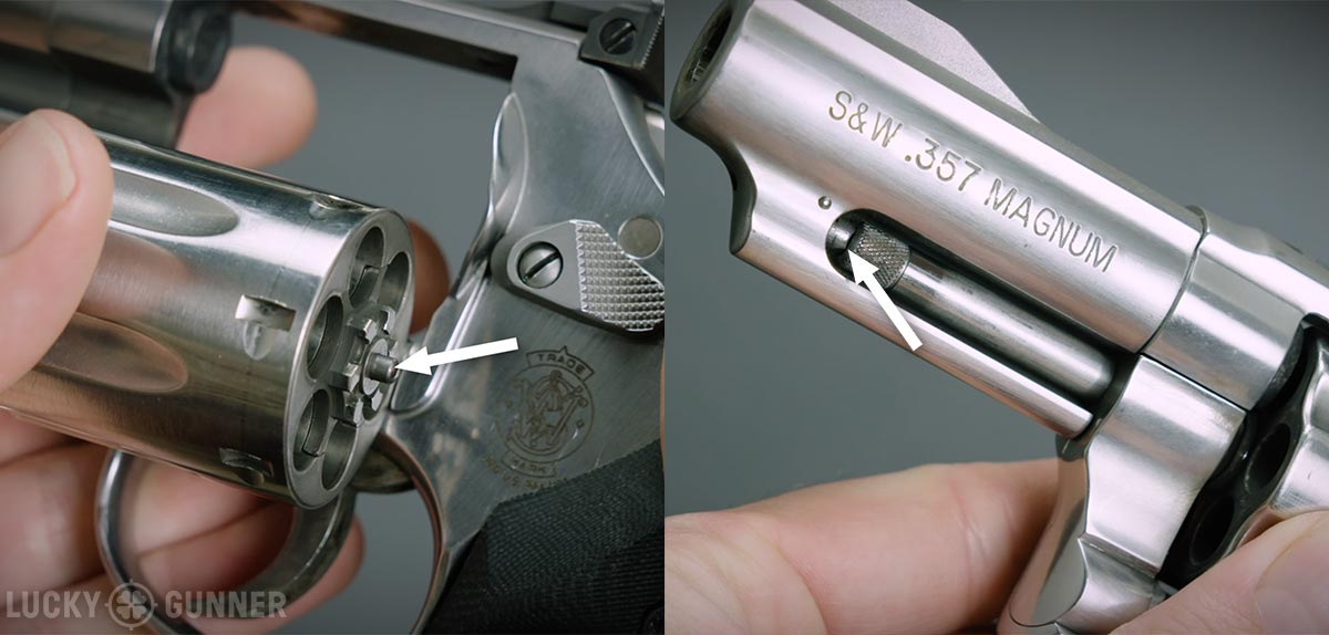 S&W revolver lockup