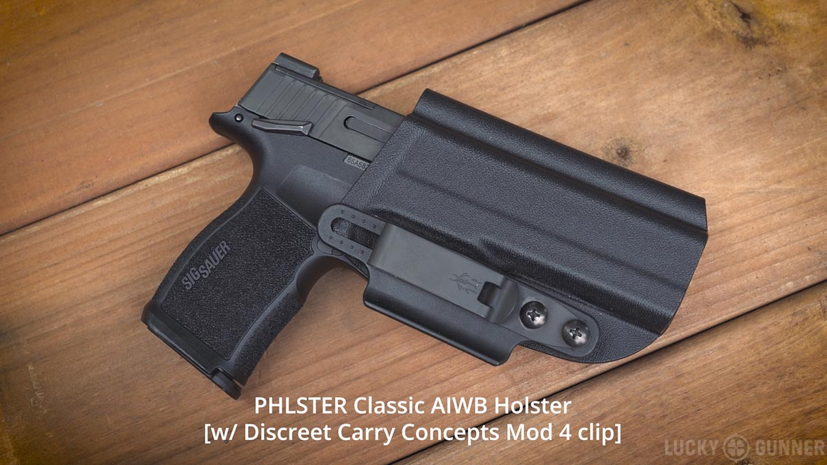 Sig P365 XL with Phlster Classic holster