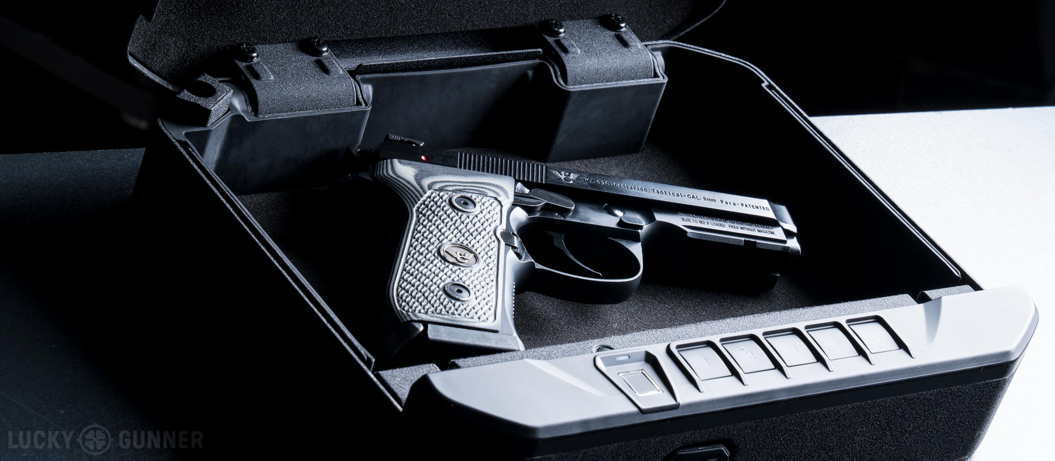 A Guide To Quick Access Pistol Safes Lucky Gunner Lounge