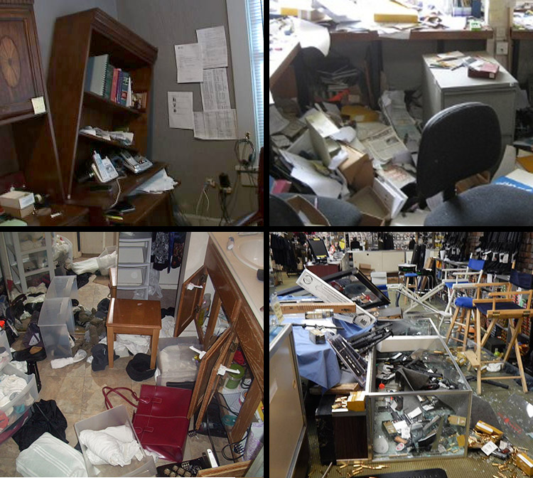 Burglary Aftermath