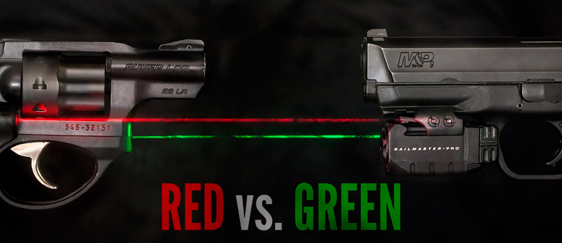 Red vs  Green Laser Sights - Lucky Gunner Lounge