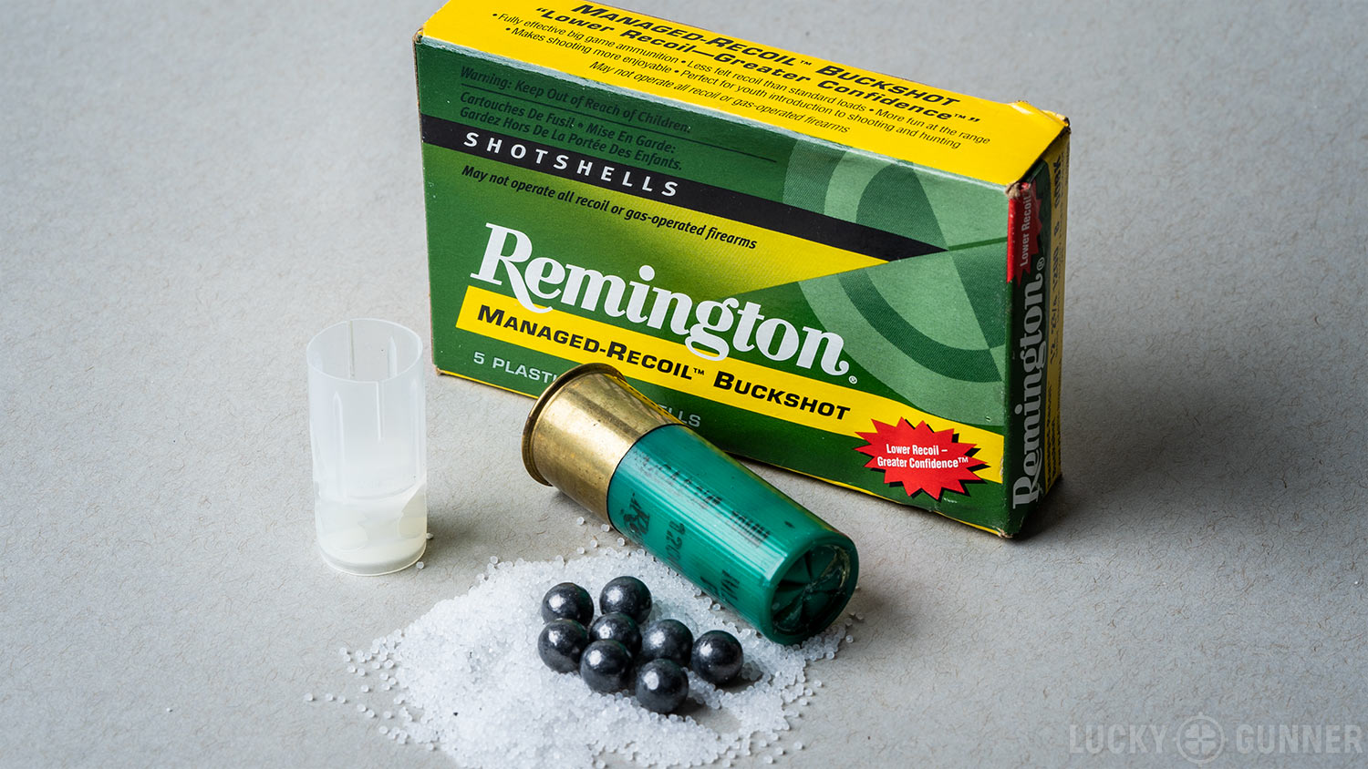 Remington Low Recoil 8 Pellet #00 buckshot